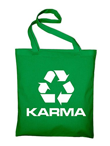 Cloth Logo Cotton Symbol Styletex23bagkarmarec8 Recycling Protection Environment Karma Yellow Bag Pouch Green yellow Jute q4dz8qx5n
