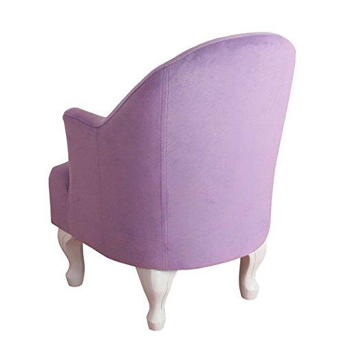HomePop Diva Junvenile Accent Chair (Purple)