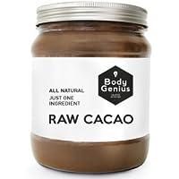BODY GENIUS Raw Cacao. Cacao Puro en Polvo. Sin Azúcar. Made in Spain