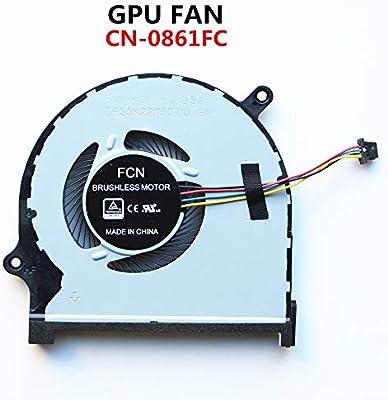 DXCCC CN-0861FC Laptop Cooler Fan FOR DELL INSPIRON 7590 7591 P83F Laptop GPU Cooling Fan (GPU FAN)