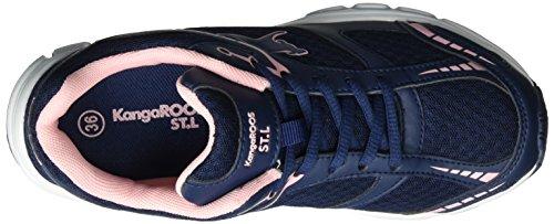 Basse Bluk marineSneaker Adulto Blue 464 Unisex KangaroosK rose fvIgb76yY
