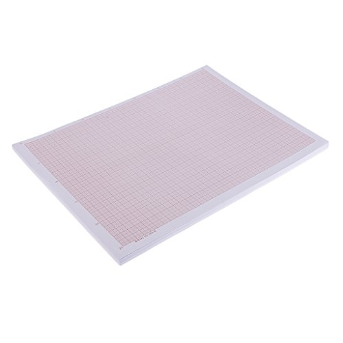 Homyl 100 Piece A3 Coordinate Paper Graph Paper Calculating Paper Grid Squared Paper by Homyl