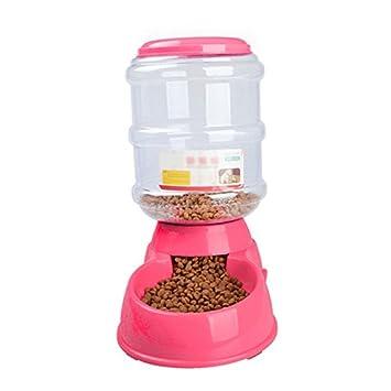 SILDGatos alimentador automático portátiles medioambiental No hay energía universal gatos tamaño pluralidad de colores (rojo): Amazon.es: Deportes y aire ...