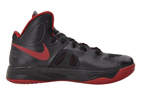 Nike Hommes Hyperfuse Tb, Noir / Gym Rouge-noir Pack Noir / Gym Rouge-noir Pack
