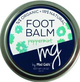 (MG Signature Peppermint Foot Balm Natural & Organic)