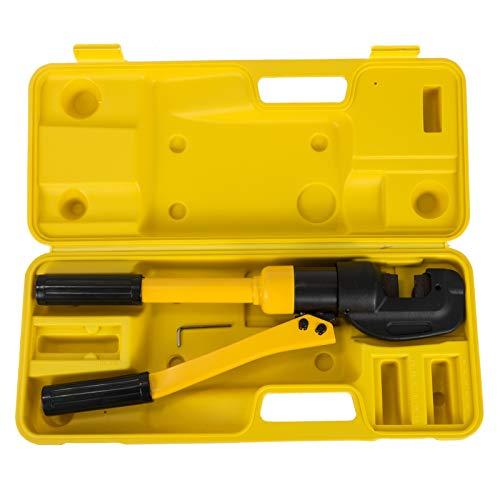 Happybuy Hydraulic Rebar Cutter 12T 3/5 Inch Concrete Construction Tool G-16 Rebar Cutter Cuts 22mm Inch 4 to 16mm Handheld Hydraulic Rebar Cutter Handheld Rebar Cutter