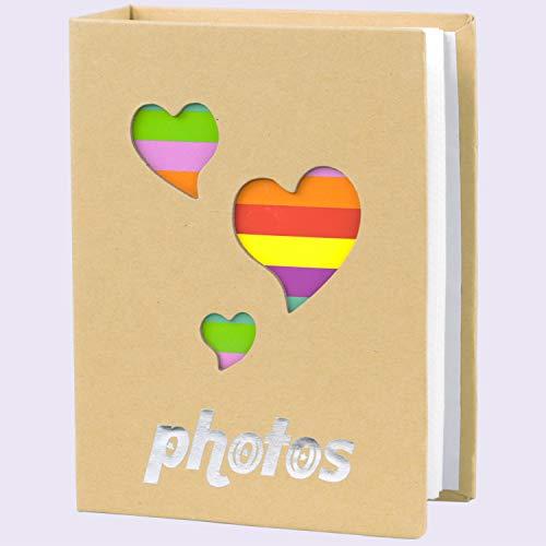 [해외]NLC Small Photo Album Baby Journal Photo Album 4x6 inch100 Pockets Bear Pictures AlbumBrown / NLC Small Photo Album Baby Journal Photo Album 4x6 inch,100 Pockets Bear Pictures Album,Brown
