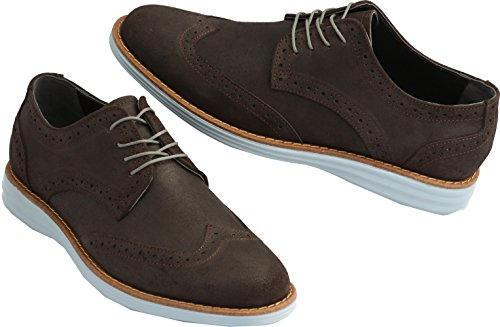 Leather 4 Dress Shoes Holes Gadea Casual Brown Loafers Blue 021 Mens xXwSA