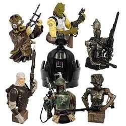 Star Wars Bounty Hunter Bust-Ups Box Set