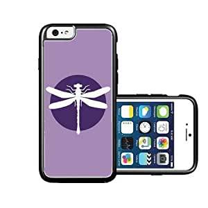 RCGrafix Brand purple-dragonfly iPhone 6 Case - Fits NEW Apple iPhone 6