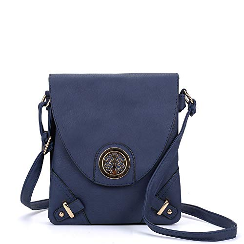 Bags YOUNG Classic Navy Flap Fashion High Leather Messenger vk5344 SALLY Body PU Women Quality Cross Bags tHdPPqw