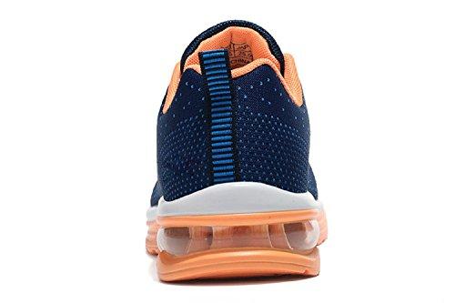 Ginnastica Blu tqgold Running Donna Fitness Sportive Casual Interior all'Aperto Sneakers Uomo Scarpe da Corsa Oqpafq