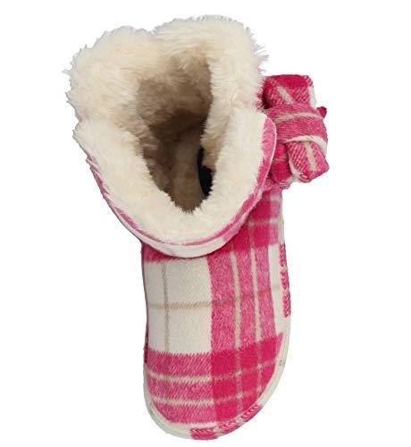 1930da3bf34c Ladies Pitlochry Jo   Joe Tartan Textile Fleece Faux Fur Lined Trim ...