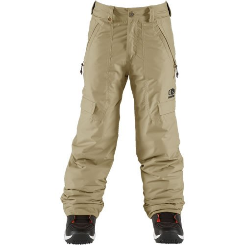 Bonfire Burly Pants - Youth/Boys Size (XS) - Canvas by Bonfire
