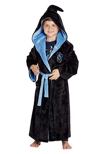 INTIMO Harry Potter Costume Kids Plush Robe (Ravenclaw, Medium 10/12) -