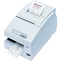 Epson C31CB25014 TM-H6000IV Multifunction Printer, 9 Pin, Without MICR, Without Endorsement and Drop in Validation, Serial and USB Interfaces, Cool White