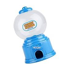 Kids Blue Candy Machine Piggy Gumball Saving Coin box Retro Sweets Mini