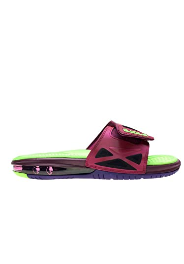 47c3e574880d11 Image Unavailable. Image not available for. Color  Nike Mens Air Lebron  James 2 Slide Elite Sandals Purple