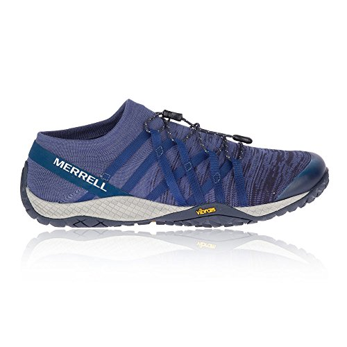 Knit Fitness Merrell Tech Denim Glove Blue Denim 4 Men's Shoes Tech Trail wRRFIX