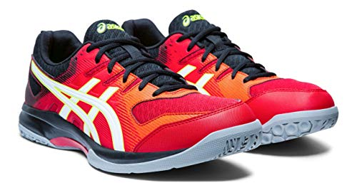 ASICS Gel-Rocket 9 Men's Volleyball Shoes, Speed Red/White, 10 M US