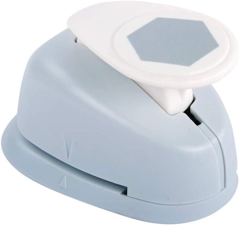 Motivlocher Sechseck Rayher 69195000 Motivstanzer Hexagon geeignet zum Stanzen von Papier//Karton bis 200g//m2 1 Zoll 2,54 cm /ø