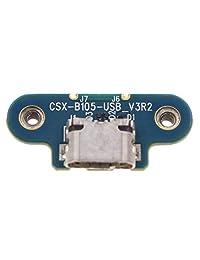 AUTOKAY nuevo puerto de carga inalámbrica Micro USB Jack de repuesto para Beats Studio 2.0 2