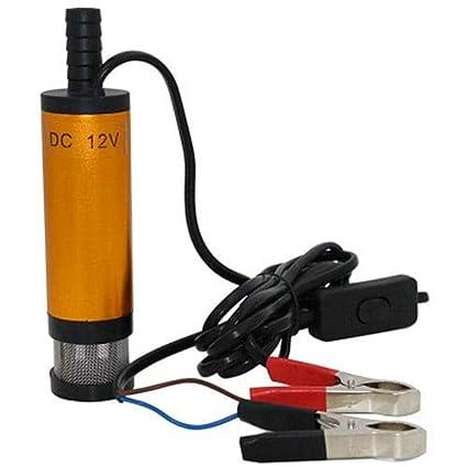HaiMa DC Agua Aceite Diesel De Transferencia De Combustible Bomba ...