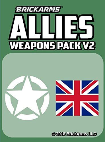 BrickArms Allies Pack V2 2018 New!