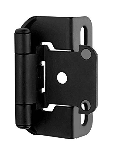- Self-Closing Partial Wrap Overlay Hinge (Set of 10)