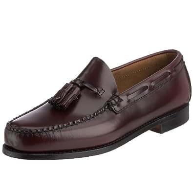 Bass Men's Larkin Classic Tassel Loafers,Brown,16 D