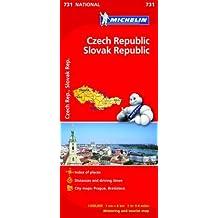 Czech Republic/Slovak Republic - Michelin National Map 731