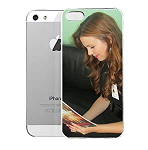 AmbarTamblvn Look Whou002639s Reading U201crogue Islandu201d Now Itu002639s Actress AmbarTamblvn for iPhone 5/5s Case Designed Specifically for iPhone 5/5S case with a Slim Design