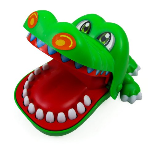 Classic Biting Hand Crocodile Game for Kids (Alligator Bite)