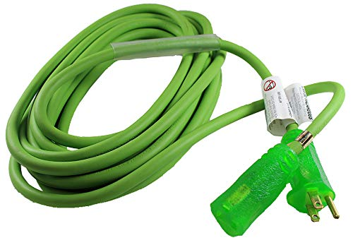 General Cable 06225.61.06 Frog Hide Ultra Flex Extension Cords, 3-Conductor Grounded, Type SJOW, -40 Degree C to 90 Degree C, 300V, 25', 12/3 SJOW, Frog Hide