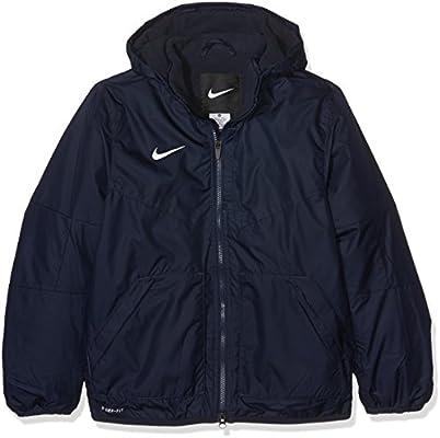 Nike Kinder Jacke Team Fall Jacket Dark ObsidianWhite L