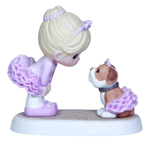 Precious Moments,  I Believe In You, Bisque Porcelain Figurine, (Believe Porcelain)