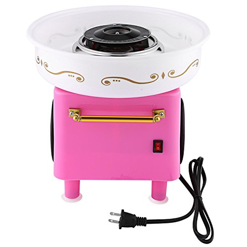 Rapesee Cute Casual Cotton Candy Machine, Stainless Steel Safe Electric Commercial Candy Floss Maker for Family Party … by Rapesee (Image #2)