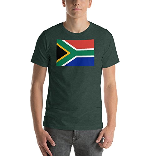 CANTHESE Flag of South Africa - Short-Sleeve Unisex T-Shirt by CANTHESE