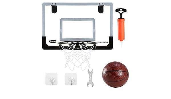 MB-Sportstar - Mini Red de Bomba de Baloncesto para Pared y Puerta ...