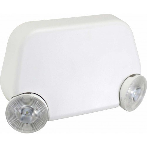 Orbit Industries Super Micro Adjustable Head LED Emergency Light, White - Orbit Ceiling Lamp