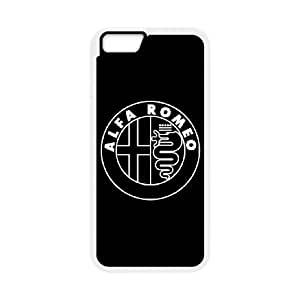 iPhone6 Plus 5.5 inch Phone Case White Alfa Romeo ZBC370724