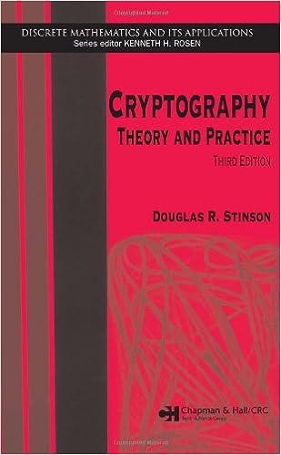 Stinson Cryptography Pdf