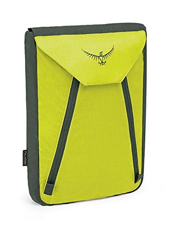 Osprey Packs UL Garment Folder, Electric Lime, One Size