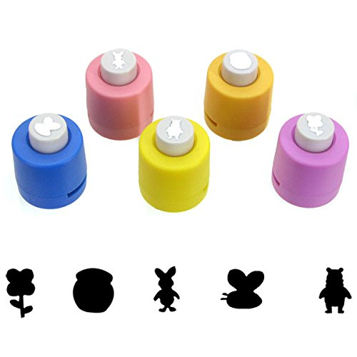 Set of 5 Different Disney Craft Paper Punches - Winnie-the-Pooh ()