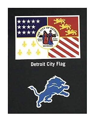New Era 2019 NFL Detroit Lions Draft Hat Cap City Flag 39Thirty 12024566