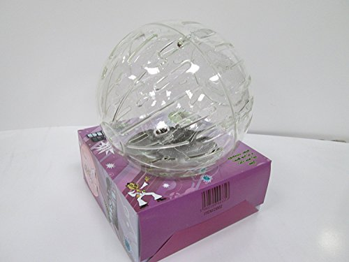 Global Pets Hamster Ball With Sparkle 7 Hamster Disco Ball with Screw Fit Design Clear