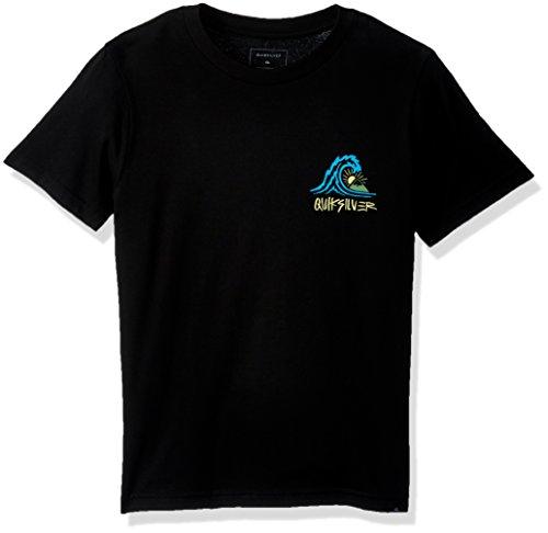 Quiksilver Boys' Big Quik Start Youth TEE Shirt, Black, XL/16 ()