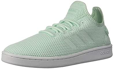 adidas Womens F36476 Court Adapt Blue Size: 5