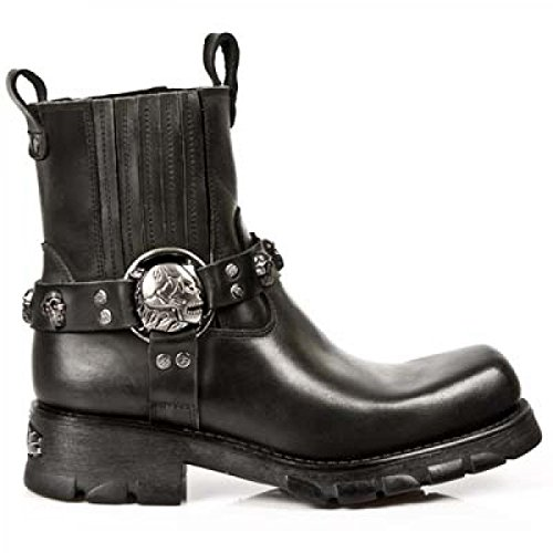 M Cowboy Men's Black Rock New Black Boots s1 7621 qwTR7wExWv