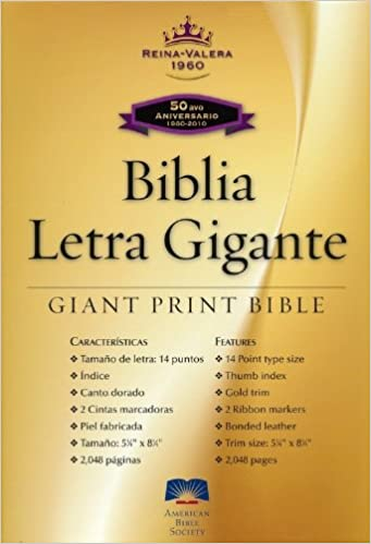 RVR60 Large Print (Spanish Edition): American Bible Society
